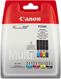 Canon CLI-551 Cartridges Combo Pack