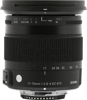 Sigma F 17-70mm f/2.8-4 DC Macro OS HSM Nikon