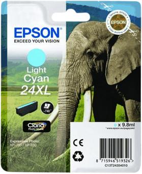 Epson 24XL Cartridge Light Cyan
