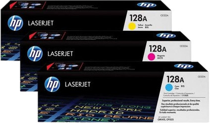 HP 128A Toner Cartridges Combo Pack