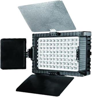 Falcon Eyes LED lamp set DV-96V-K1 on battery