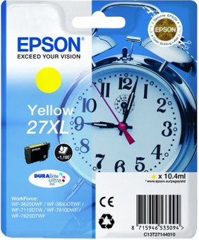 Epson 27XL Cartridge Yellow