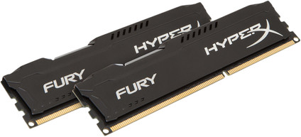Kingston HyperX FURY 16GB DIMM DDR3-1866 Black 2x 8GB