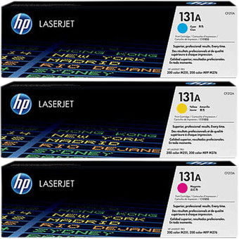 HP 131A Toner Cartridges Combo Pack