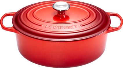 Le Creuset Oval Dutch Oven 27cm Cerise