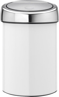 Brabantia Touch Bin 3 Liters White