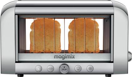 Magimix Le Vision toaster Matt Chrome