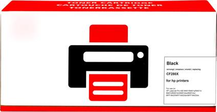 Pixeljet 80X Toner Cartridge Black (High Capacity)