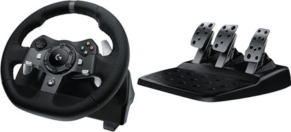 Logitech G920 Driving Force - Racing Wheel for Xbox Series X | S, Xbox One, and PC