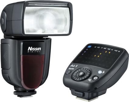 Nissin Di700A kit Nikon + Air 1 NAS TTL commander