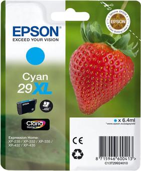 Epson 29XL Cartridge Cyan