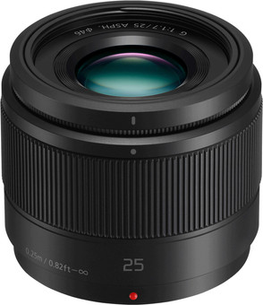 Panasonic Lumix G 25mm f/1.7 Black