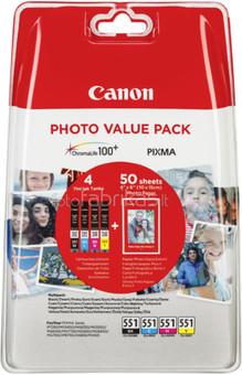 Canon CLI-551 Value Pack