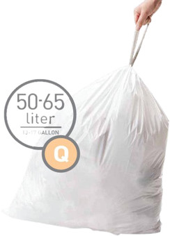 Simplehuman Trash Bags Code Q - 50-65 Liters (60 units)