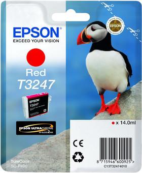 Epson T3247 Cartridge Red