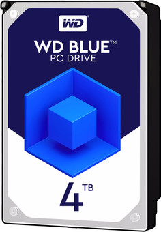WD Blue HDD 4TB