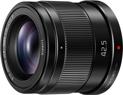 Panasonic Lumix G MFT 42.5mm f/1.7 ASPH O.I.S. Black