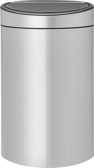 Brabantia Touch Bin 40 Liter Metallic Gray
