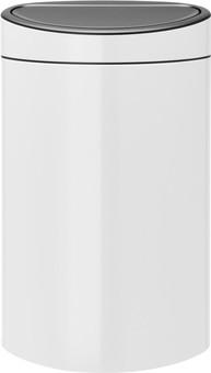 Brabantia Touch Bin 40 Liters White