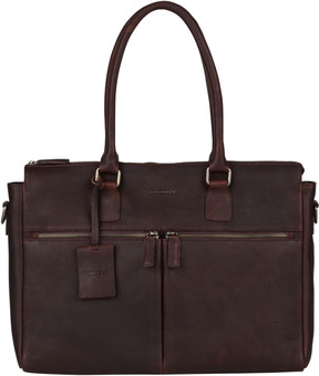 """Burkely Antique Avery Laptop Bag 15,6 """"Brown"""