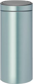 Brabantia Touch Bin 30 Liters Metallic Mint