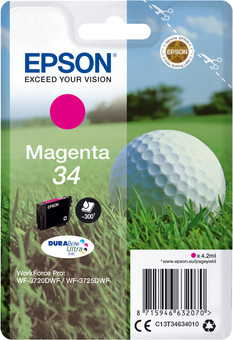 Epson 34 Cartridge Magenta