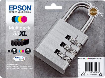 Epson 35XL Cartridges Combo Pack