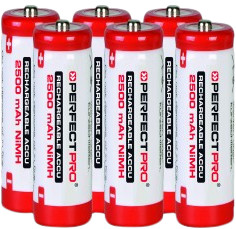 Perfectpro NiMH batteries 6 x AA