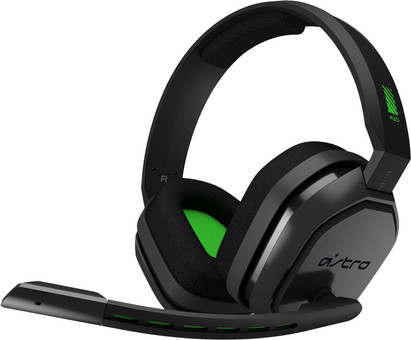 Astro A10 Gaming Headset for PC, PS5, PS4, Xbox Series X/S, Xbox One - Black/Green
