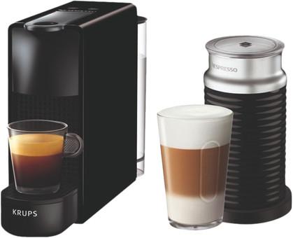 Krups Nespresso Essenza Mini XN1118 Black + Milk Frother
