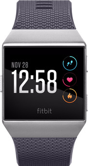 Fitbit Ionic Blue Gray & Silver Gray