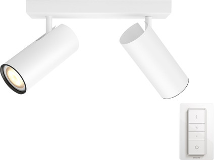 Philips Hue Buratto 2-Spot White with Dimmer