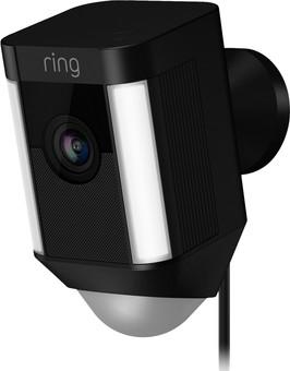 Ring Spotlight Cam Wired Black