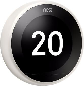 Google Nest Learning Thermostat V3 Premium White