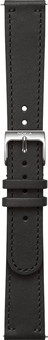 Withings 18mm Leather Watch Strap Black