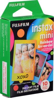 Fujifilm Instax Colorfilm Mini Rainbow (10 pieces)
