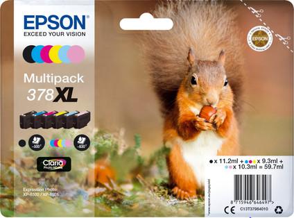 Epson 378XL Cartridges Combo Pack