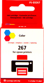 Pixeljet 267 Cartridge Color