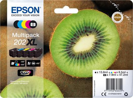Epson 202XL Cartridges Combo Pack
