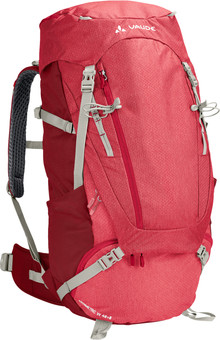 Vaude Wo Asymmetric 48L + 8L Indian Red
