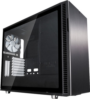 Fractal Design Define R6 Black Tempered Glass