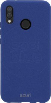 Azuri Flexible Sand Huawei P20 Lite Back Cover Blue