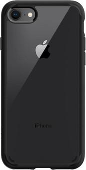 Spigen Ultra Hybrid Apple iPhone SE 2/8/7 Back Cover Transparent with Black Edge