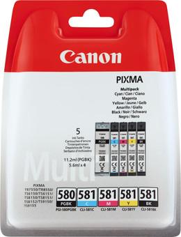 Canon PGI-580/CLI-581 Cartridges Combo Pack
