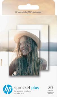 HP ZINC Photo paper for Sprocket Plus 20 sheets