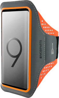 Mobiparts Comfort Fit Sports Bracelet Samsung Galaxy S9 Orange