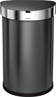 Simplehuman Semi-round Sensor LinerPocket 45 Liter Anthracite