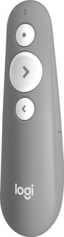 Logitech R500 Laser Presenter Light Gray