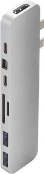 Hyper Pro USB-C 8-in-2 Docking Station Silver