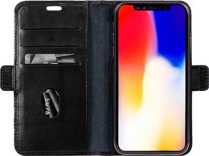 DBramante1928 Copenhagen Apple iPhone Xr Book Case Black